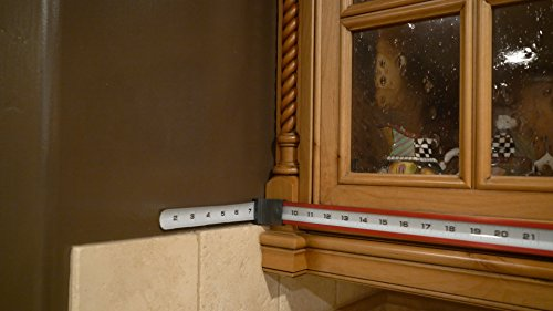Zip Measure is a measuring tape designed to measure at 90 degree angles. This one of a kind tool measures up to 24'' by Zip Measure (Image #5)