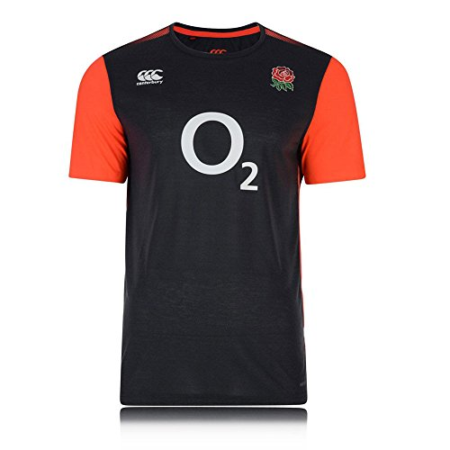 (Canterbury England Elite Training T-Shirt - Small - Black )