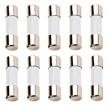 FBApayipa Pack of 10 pcs F8AL Fast-Blow Fuse 8A 8amp 250V Ceramic Fuses 5 x 20 mm (F8A Ceramic)