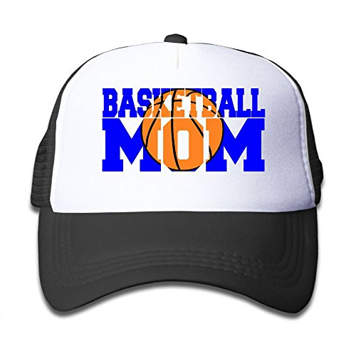 Shadidi Kid's Basketball Mom Cool Adjustable Casual Mesh Baseball Cap Trucker Hat