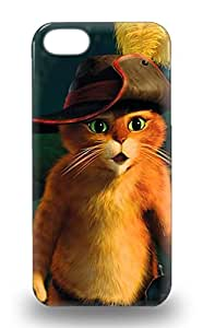 Protective Tpu 3D PC Case With Fashion Design For Iphone 5/5s Dream Works Puss In Boots Puss In Boots Adventure ( Custom Picture iPhone 6, iPhone 6 PLUS, iPhone 5, iPhone 5S, iPhone 5C, iPhone 4, iPhone 4S,Galaxy S6,Galaxy S5,Galaxy S4,Galaxy S3,Note 3,iPad Mini-Mini 2,iPad Air )
