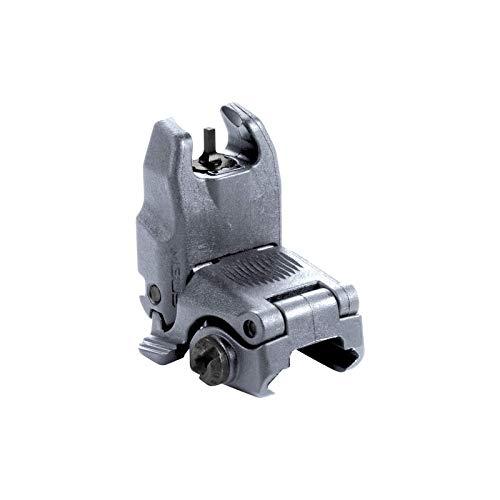 Magpul MBUS Flip-Up Backup Sights, Gray, Front Sight - Dual Blade Mount