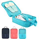 Shoe Bag Travel Organizer - Travel Shoe Tote Bag case organizer - Hold 3 Pairs of Shoes - Perfect for Travel Business Trip Outdoor Sport by Shellvcase