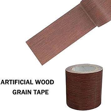 Reparatur-Klebeband Holzmaserung-Effekt 45.7/×5.7/×0.026cm Webri Mustertes Duck Tape Klebeband f/ür M/öbelt/üren braun