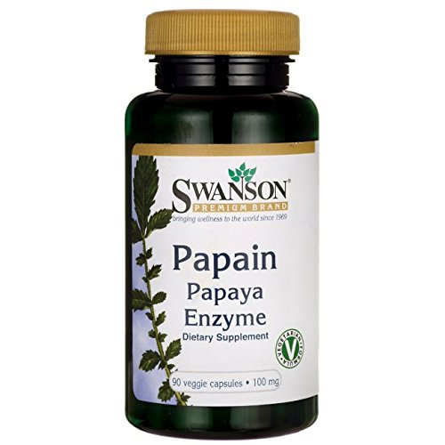 Swanson Papain Papaya Enzyme Caps