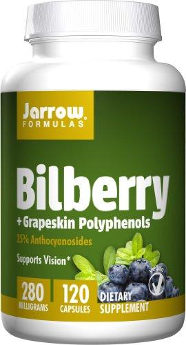 Jarrow Formulas Bilberry Grapeskin Polyphenols