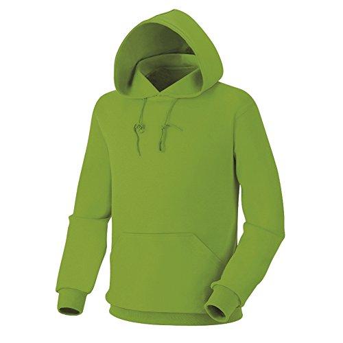 green Uomo Basic Cotone In Myglory77mall Felpa Cappuccio Da Con L 6Hffzw