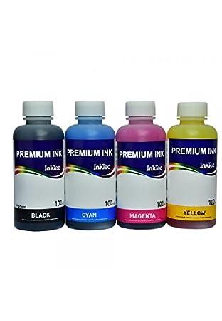Kit 4 tintas) InkTec H5088/h8940 compatible con cartuchos HP ...
