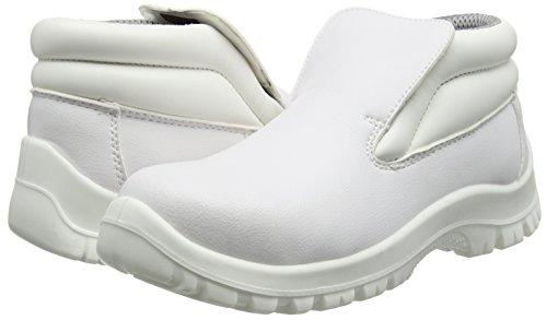 Blackrock - SRC01, Zapatos de Seguridad Unisex adulto, Blanco (White), 47 EU