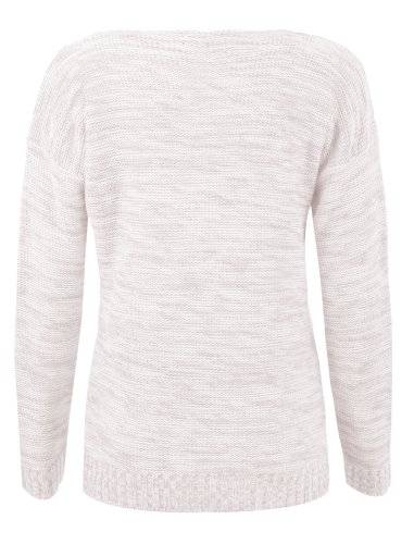 Fast Fashion - Gilet Long Jersey en Viscose Froncé style Boyfriend - Femme - 36/38 - Rose