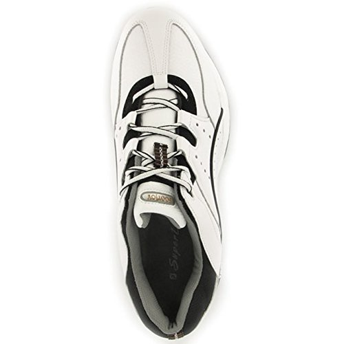Athletic FJ FootJoy Hydrolite Black Shoe Men's White zvxqta