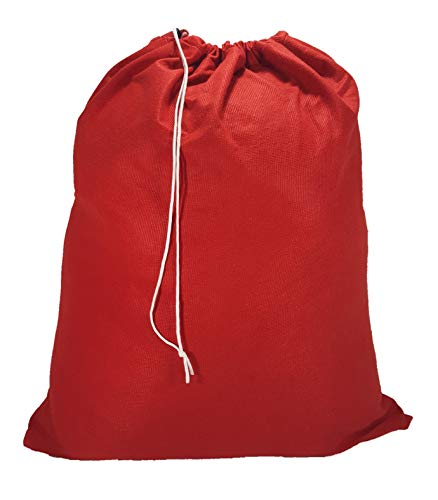 Owen Sewn Red Santa 30 X 40 Heavy Duty Laundry Bag