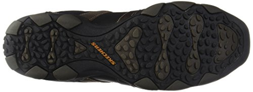 Sportive Tan Outdoor nbsp; Vassell Nero Skechers 62607 Black Diameter Uomo Scarpe XSRpw