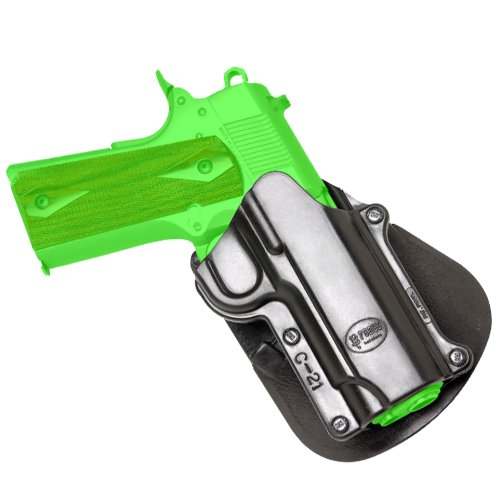 Concealed Carry Fobus Holster Roto 1911 Style 45 ACP Paddle Judge Style Case HandGun & Pistol Pouch