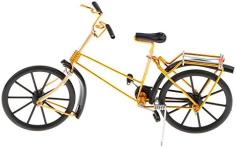 T TOOYFUL 1:10 Juguete De Bicicleta Decorativa Vintage A Presión ...