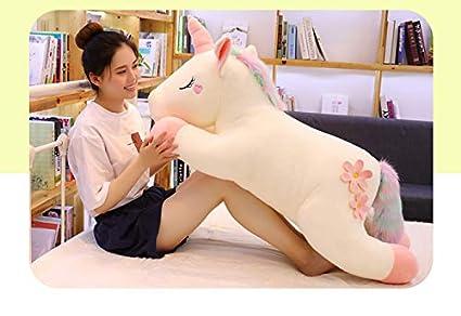 CJJCJJ Juguete de Peluche Unicornio Tama/ño Gigante Animal Caballo Juguete Regalo Ni/ños Moda Decoraci/ón del hogar Interesante