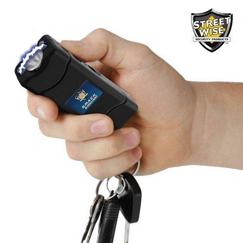 Streetwise S.M.A.C.K. Keychain Stun Gun Taser 6M Volts