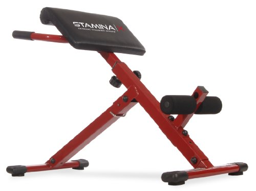 Stamina Hyper Bench, Red (Best Lower Back Exercise Machine)