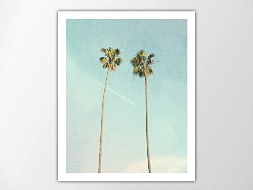 Palm-Trees-Art-Print-Palm-Leaf-Coastal-Beach-House-Decor-Tropical-Art-Print-Coastal-Wall-Art-Summer-Decor-Palm-Trees-Photo-Palm-Tree