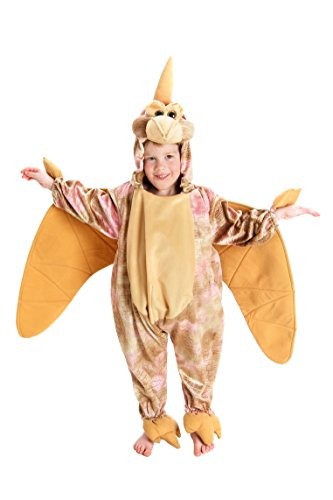 Princess Paradise Baby's Pterodactyl, Tan, 18 to 24 months (Kids Plush Dinosaur Wings Costume)