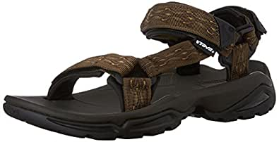 Teva Men's Terra FI 4 Sandal, Madang Olive Webbing, 7 M US