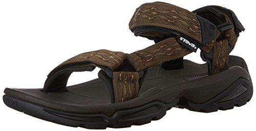 (Teva Men's Terra FI 4 Sandal, Madang Olive Webbing, 11 M US )