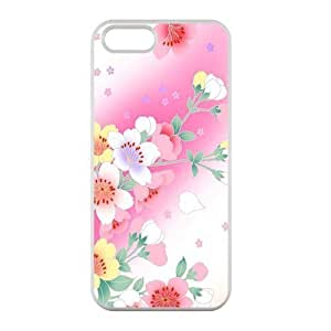 Welcome!Iphone 5/5S Case Covers-Brand New Design Beautiful Flower Pattern Printed High Quality TPU For Iphone 5/5S Case Cover -06 WANGJING JINDA