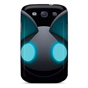 Galaxy S3 Case Cover - Slim Fit Tpu Protector Shock Absorbent Case (deadmau5 Head)