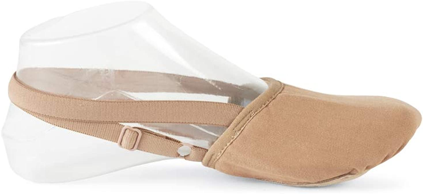Artibetter Dance Half Sole Contemporary Lyrical Ballet Shoe for Women Girls Size 33-35 Skin Color