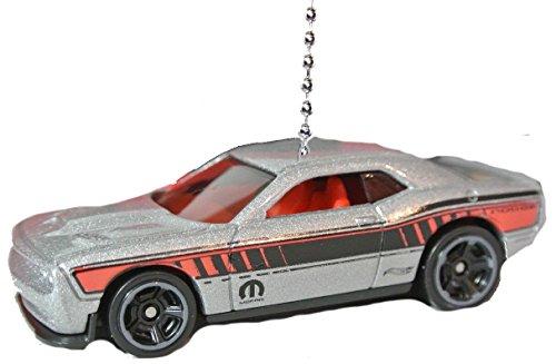 hot-wheels-car-trucks-ceiling-fan-pulls-ornaments-pendants-dodge-2015-challenger-silver