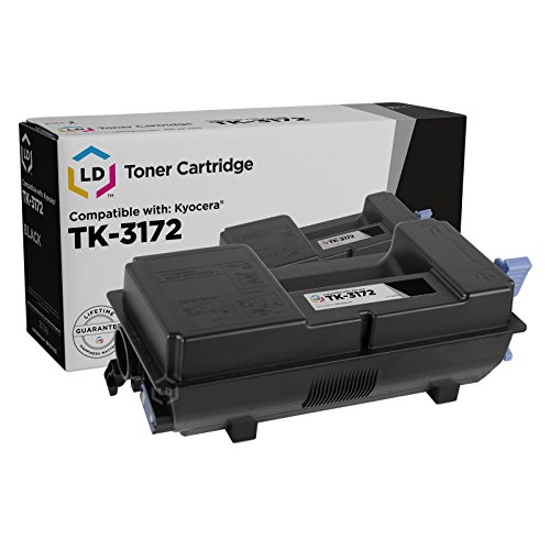 Price comparison product image LD Compatible Kyocera TK-3172 (1T02T80US0) Black Laser Toner Cartridge for use in ECOSYS P3050dn (15,500 Page Yield)