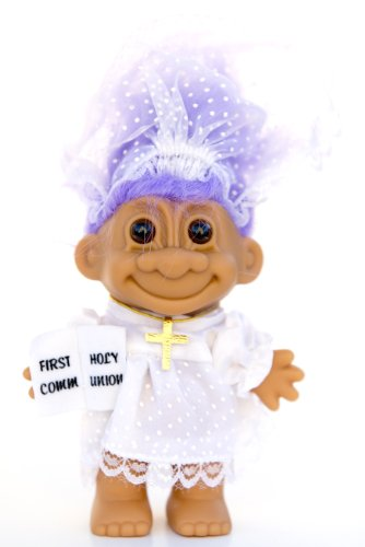 Russ Berrie My Lucky First Holy Communion Troll Doll - Vi...