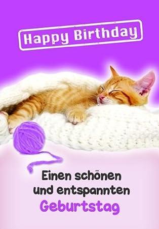 Karte Geburtstag Motiv Tierisch Gut Drauf Lustig Freche