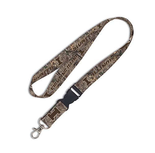 NCAA University of Illinois Lanyard with Detachable Buckle, ()