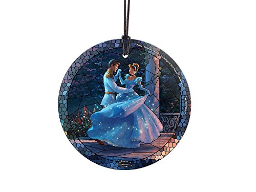 (Trend Setters Disney Dancing in The Starlight Cinderella Starfire Prints Hangng Glass - Stained-Glass)