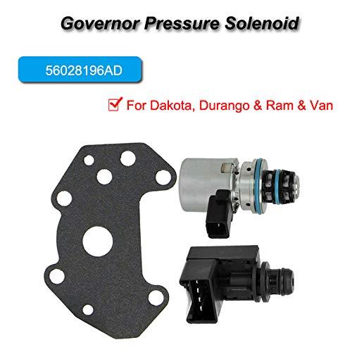 46RE 48RE Transmissions 44RE 47RE Transmission Pressure Sensor /& Governor Pressure Solenoid Kit For Dodge Ram Jeep 2000 up 12415CAK 42RE