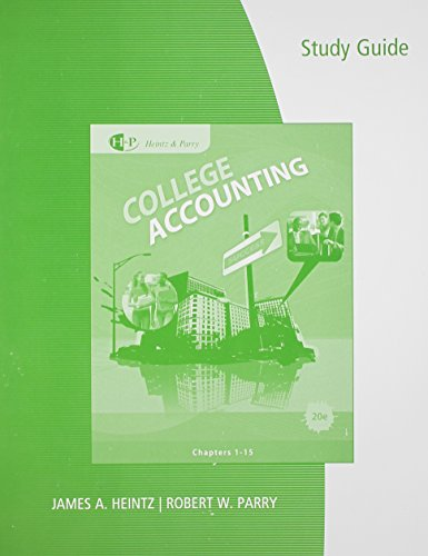 College Accounting Study Guide Chp 10-15 Heintz &...