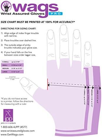 Wrist Assured Gloves PRO style Large size