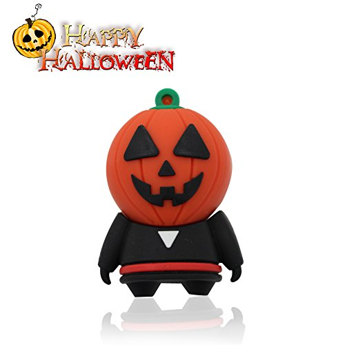 [Halloween Shop>Techkey USB Flash Drive,Mr.Halloween Pumpkin Head Costumes Monster,Thanksgiving] (Flash Drive Costume)