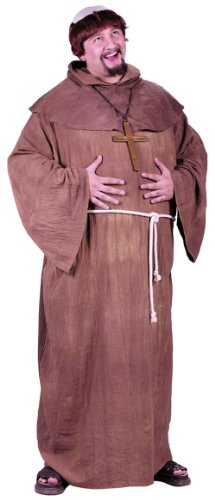 Costumes For All Occasions FW5745 Medieval Monk Plus Size - Medieval Themed Costumes