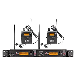 xtuga rw2080 rocket audio whole metal wireless in ear monitor system 2 channel 2. Black Bedroom Furniture Sets. Home Design Ideas