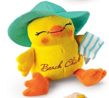 (Charming Chicks Plush-Beach Chick)