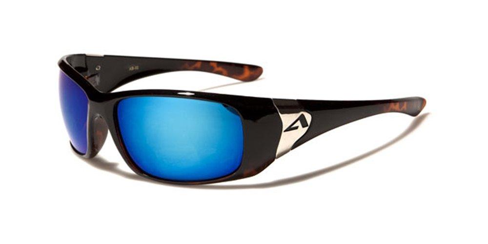 Arctic Blue Unisex Gafas de sol–Deporte–Ciclismo–Esquí–Correr–Conducción Tecnología de BLUETECH Lense Marrón marrón