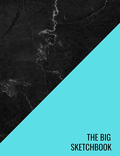 - The Big Sketchbook: Pink Blue Black Marble Art Drawing PadsSketching, Drawing, Creative Doodling to Draw and Journal