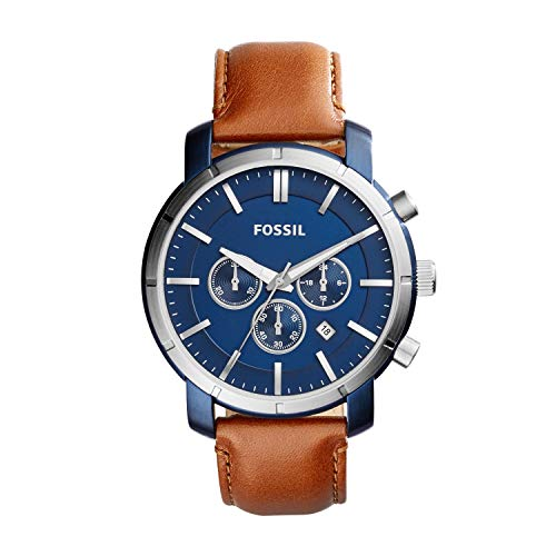 Fossil Men's Lance Chronograph Brown Leather Watch BQ2159 (Fossil Outlet)