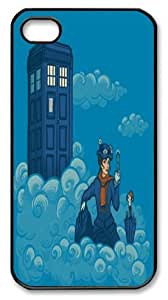 popular case Cartoon Mary Poppins in the Cloud and Docter Who Tardis Iphone Case, Mary Poppins Iphone Case, Black PC Case Cover Fits APPLE iphone 6 4.7