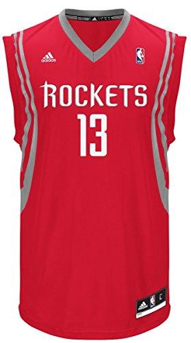 NBA Houston Rockets James Harden #13 Men's Replica Jersey, Small, Red