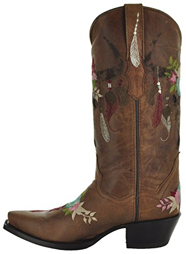 Women's Soto Longhorn Cowgirl Boots by Fashion Boots M50029 zwHq4F