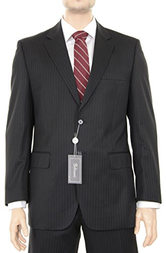 Wool 2 Button Italian Suit - 7