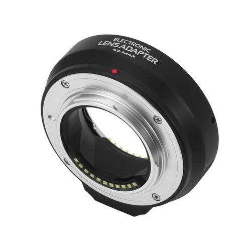 Adaptador de Objetivo electr/ónico de Enfoque autom/ático para Olympus Panasonic Micro M4//3 Camera E-P1 E-PL1 E-PL3 E-PL5 G1 G2 GF1 GF5 como DMW-MA1 MMF-1 MMF-2 MMF3 Fotga